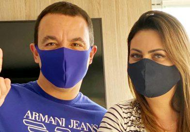 Prefeito Rogério Lins e primeira-dama anunciam estarem curados do novo Coronavírus