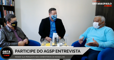 """Presidente Toninho do Caps participa de bate-papo no """"Grita São Paulo Entrevista"""""""
