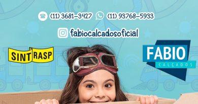 Fábio Calçados | Aproveitem a promoção do Dia das Crianças com preços incríveis!